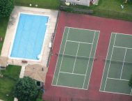 St Andrews Community Estate Tennis and Pool Pic